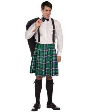 Naughty Kilt & Shorts Men's Costume Set