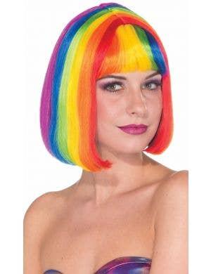 Rainbow Chic Women's Bob Costume Wig Accessory