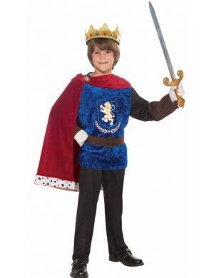 Medieval Prince Boy's Book Week Costume Front View