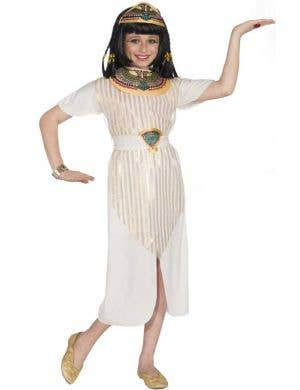 Egyptian Queen Girl's Costume Front View