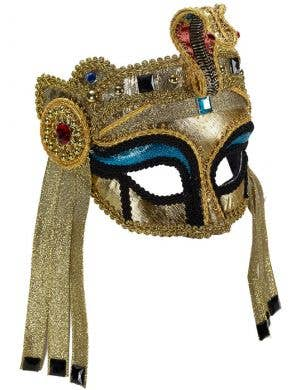 Deluxe Gold Egyptian Masquerade Mask