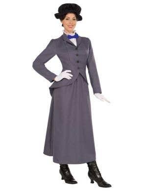 English Nanny Women's Mary Poppins Costume