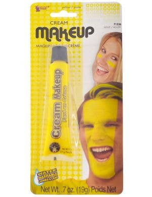 Sports Day Yellow Cream Makeup Face Paint