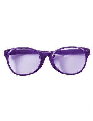 Jumbo Purple Glasses Novelty Costume Accessory
