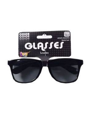 Blues Black Costume Sunglasses