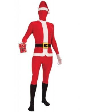 Father Christmas Adult's Second Skin Christmas Costume