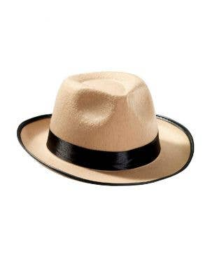 Roaring 20's Tan Trilby Gatsby Men's Costume Hat