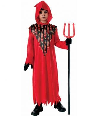 Devil Boy Halloween Fancy Dress Costume