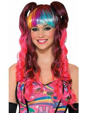 Bitter Sweet Women's Rave Wig Costume Accessory