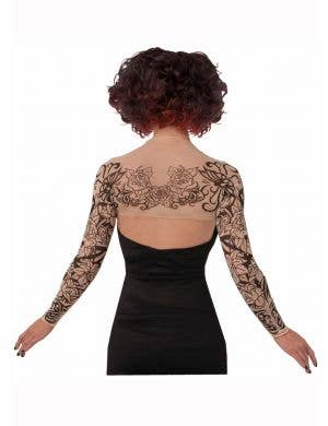 Women's Gothic Tattoo Print Shrug Accessory