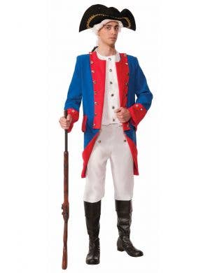 Men's Civil War General Deluxe Colonial Costume