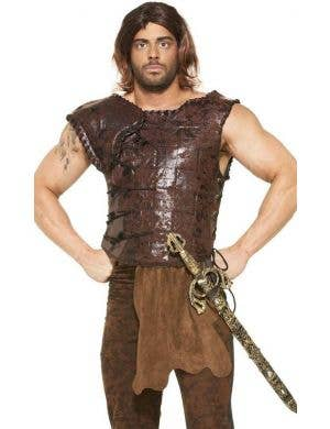 King's Armor Plus Size Medieval Men's Costume Vest