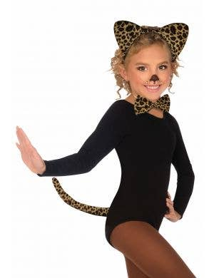 Cute Leopard Girls Costume Accessory Set