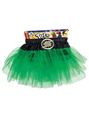 Superhero Girls Green Tutu Costume Accessory