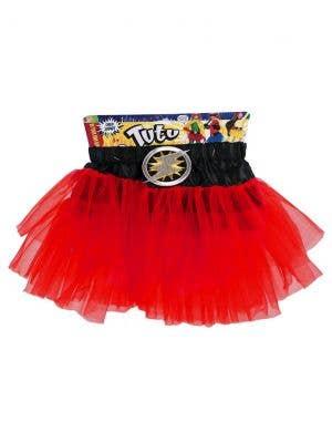 Superhero Girls Red Tutu Costume Accessory