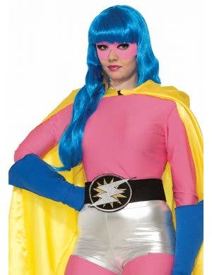 Superhero Pink Long Sleeve Women's Costume Top