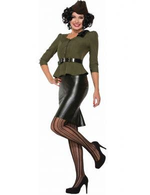 Missile Millie Women's Bombers and Bombshells Costume