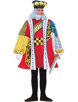 King Of Cards Men's Fancy Dress Costume