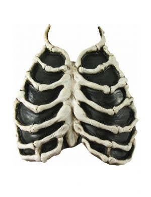 Halloween Latex Skeleton Chest Piece Costume Accessory