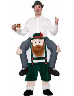 Beer Buddy Oktoberfest Men's Piggyback Costume