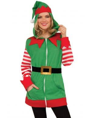 Unisex Elf Christmas Jumper Fancy Dress Outfit