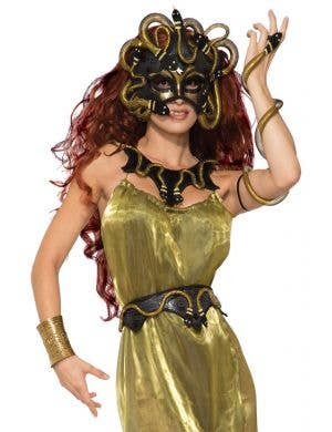 Medusa Black Decorative Belt Costume Accessory