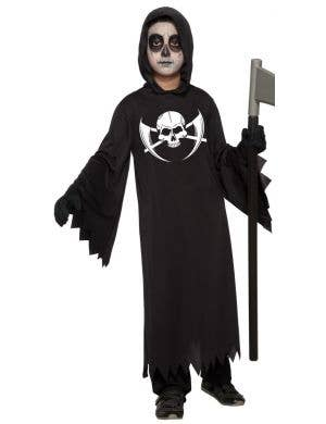 Dark Reaper Boys Halloween Party Costume