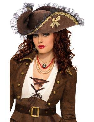 Pirate Hat Women's Costume Accessory