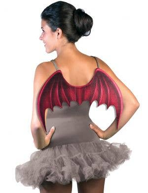 Demons and Devils Adults Demonic Red Costume Wings
