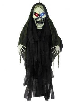 6 Foot Grim Reaper Light Up Halloween Decoration
