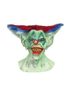 Outta Control Clown Horror Mask Costume Accessory