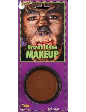 Grease Paint Base Makeup - Brown