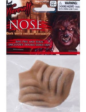 Peel and Stick Werewolf Nose