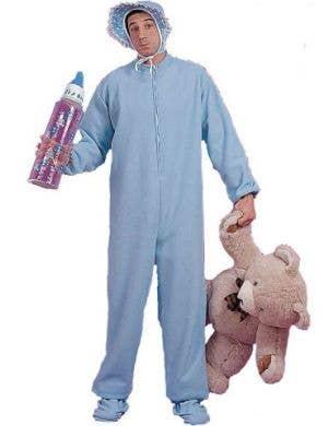 Blue Jammies Men's Baby Costume