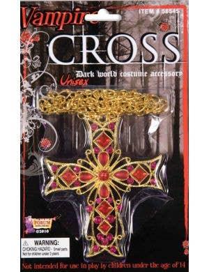 Gothic Cross Halloween Costume Jewellery