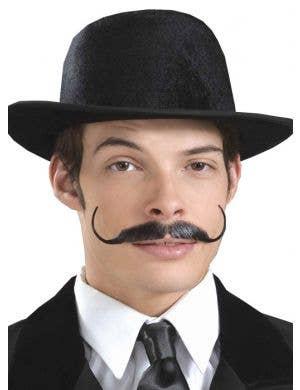 Human Hair Snidely Moustache - Colour Choice