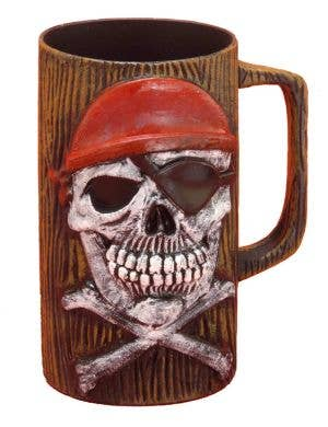 Buccaneer Pirate Novelty Beer Mug