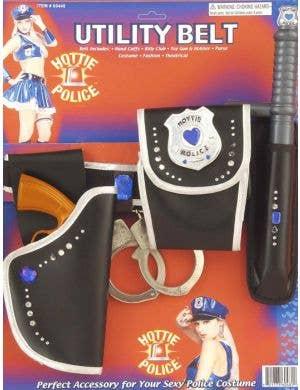 Hottie Police Costume Utility Belt