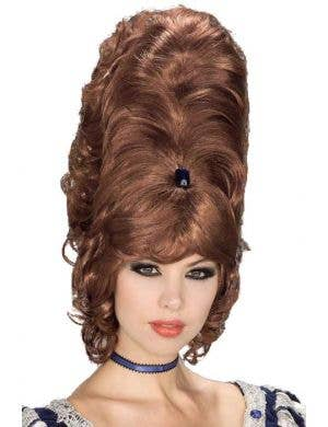 Jewelled Auburn 1960's Beehive Women's Wig