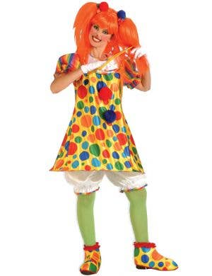 Giggles The Clown Women's Circus Costume