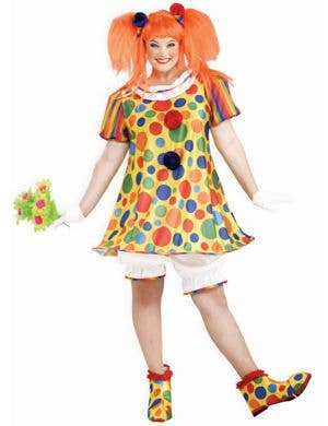 Giggles The Clown Plus Size Women's Costume