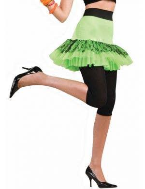 Pop Party 80's Neon Green Tutu Skirt