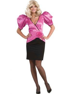 Women's Pink Soap Star Funny Costume Main Image