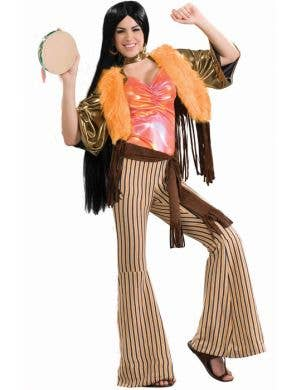 Women's 60's Cher Fancy Dress Costume Main Image