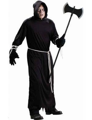 Death Robe Men's Cheap Halloween Costume