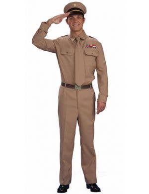 WWII Army General Men's 1940's Costume