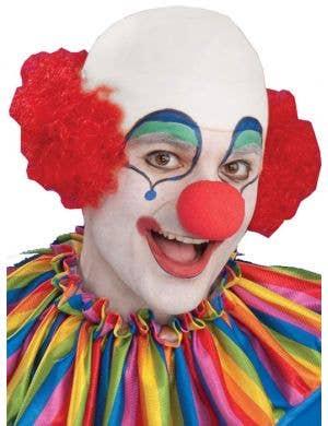 Bald Head Top Men's Clown Wig