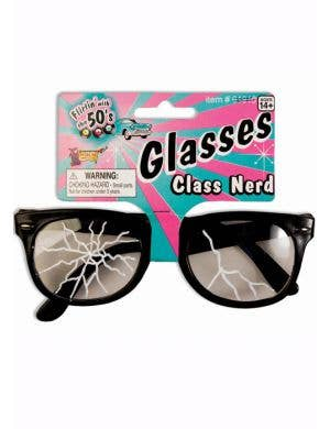 Class Nerd Cracked Glasses