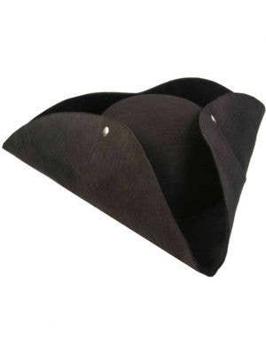 Deluxe Buccaneer Bounty Black Pirate Hat
