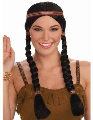 Native American Indian Princess Costume Wig